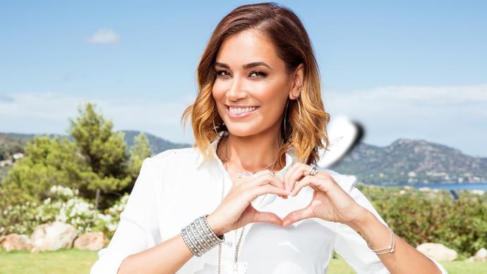 """Jana Ina Zarrella ist die Moderatorin der RTL II Sendung """"Love Island - Heiße Flirts & wahre Liebe"""""""