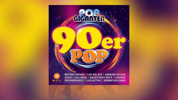 Pop Giganten - 90er Pop - Die CD