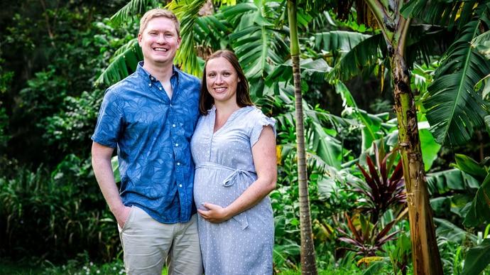 Konnys Tochter Janina und ihr Ehemann Coleman sind das erste Mal Eltern geworden.