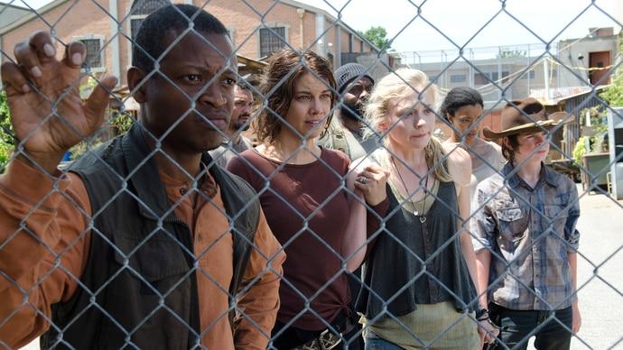 The Walking Dead - Staffel 4 - Folge 8 - Kein Zurück - Bob, Maggie, Beth und Carl