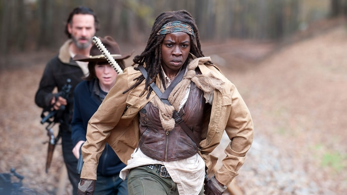 The Walking Dead - Staffel 4 - Folge 15 - Vereint - Michonne, Carl und Rick