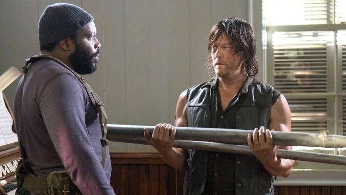 The Walking Dead - Staffel 5 - Folge 7 - Zug um Zug - Tyrese und Daryl