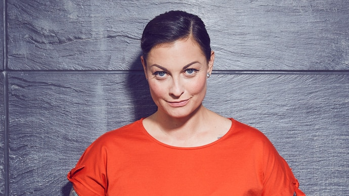 "Lina van de Mars von ""Garage Girls"" bei RTL 2"