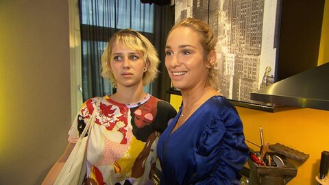 <div>BTN-Charakter Milla (rechts) mit Tochter Amelie</div>