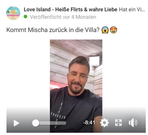 Facebook-Live-Talk mit Mischa