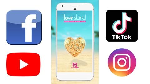 Inhalte für Social-Media und die App