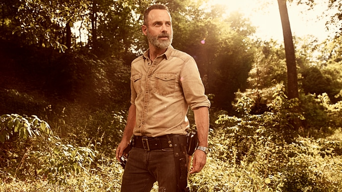 The Walking Dead - Rick Grimes - Andrew Lincoln
