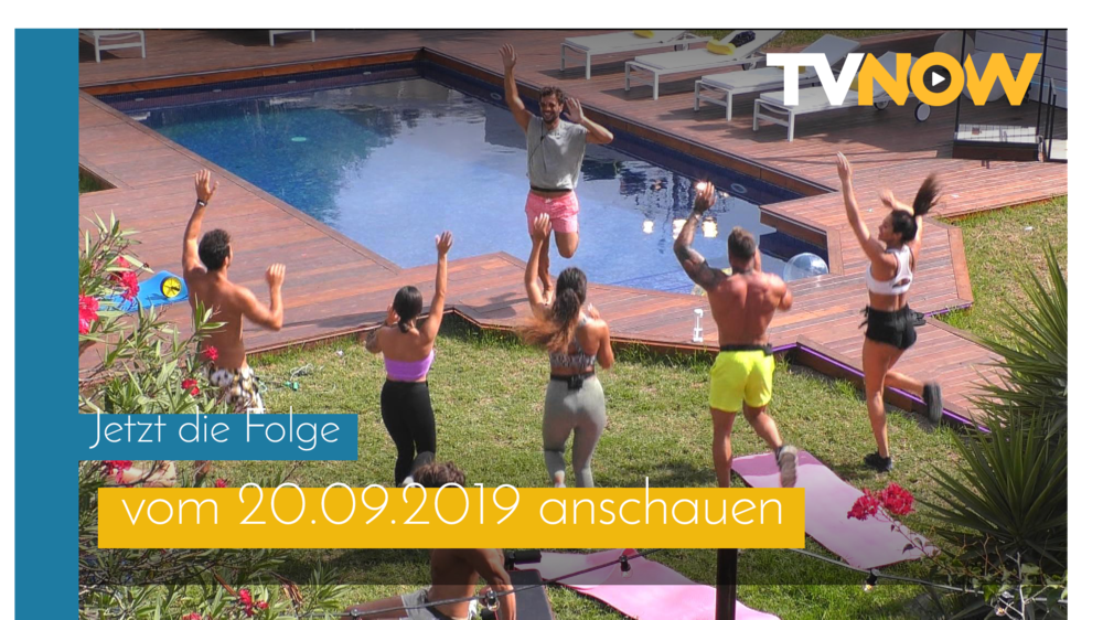 TVNOW Catch-Up 20.09.2019