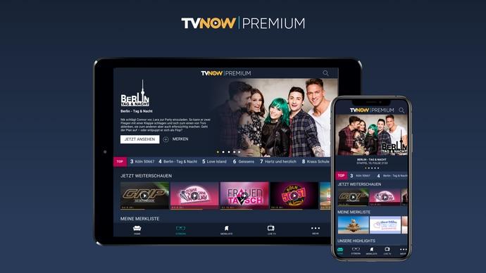 RTLZWEI in der TVNOW-App