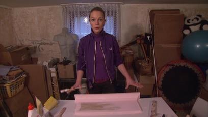 Evas Basteltipp: Gaderobe: In nur wenigen Schritten baut Innenarchitektin Eva Brenner eine selbstgebastelte...