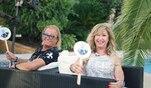 Robert und Carmen Geiss beantworten persönliche Fragen zu ihrer Beziehung, indem...