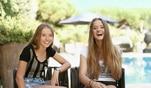 Ehrlich, bodenständig und sympathisch: Shania und Davina Geiss reden im Interview...