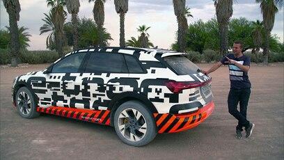 Vorschau: Der Audi e-tron (Folge 458): Der Audi e-tron im Extremtest. GRIP checkt das erste vollelektrische SUV aus...