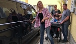 Familie Huber aus Bad Reichenhall braucht dringend ein behindertengerecht umgebautes...