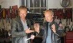 GRIP-Moderator Helge Thomsen an der langen Leitung: Im Fragengewitter mit Showmaster...