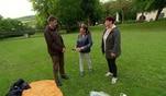 Andreas versucht mit fiesen Tricks seiner Tauschpartnerin das Verlieren beizubringen....