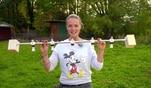 Zuhause im Glück: Evas Basteltipp: Garderobe aus Kicker-Figuren