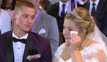 Einer der emotionalsten Momente der Hochzeit. Estefania singt für ihre Schwester...