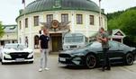 Die Testfahrer Matthias Malmedie und Niki Schelle im ultimativen Wettkampf der V8...