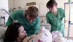 Vanessa und Mirko erwarten ihr drittes Kind. Zunächst läuft alles gut, doch...