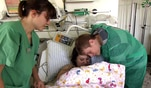 Vor zwei Stunden kam Vanessas drittes Kind per Kaiserschnitt zur Welt. Doch die kleine...