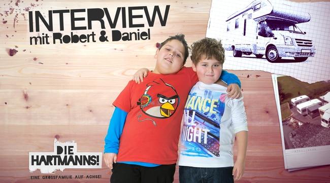Interview -  Robert und Daniel Hartmann