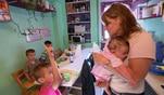 Frauentausch: Vier Kinder! Kein Problem für Angelika?