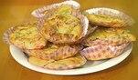 Lecker Schmecker Wollny: Rezept: Gefüllte herzhafte Muffins mit Spezial-Dip a la Wollny