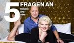 Melanie Müller - Dschungelkönigin in Love!: 5 Fragen an Melanie Müller und Mike Blümer