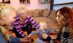 Alle Kolenitschenkos und besonders Mama Oksana freuen sich riesig auf den Besuch aus ...