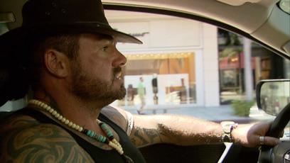 Rodeo Drive: Carsten Stahl führt über den Rodeo Drive in Los Angeles.