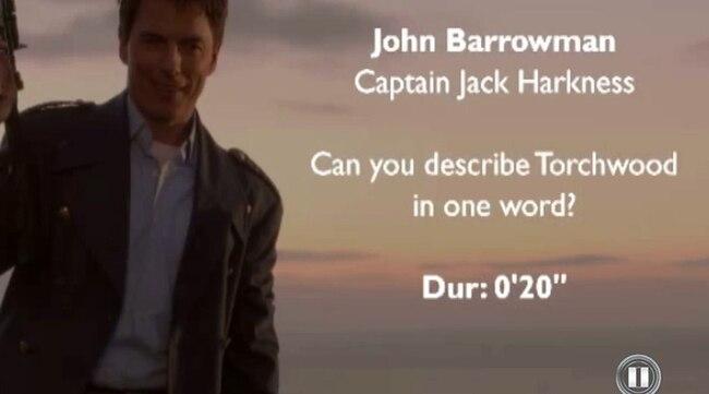 """Interview - Können Sie """"Torchwood"""" mit einem Wort beschreiben?"""