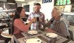 Brigitte besucht Angelo und Alina im italienischen Familien-Lokal von Angelo in Kö...