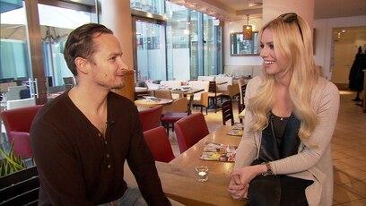 """Sandra interviewt """"Bösewicht"""" Daniel: Schauspieler Daniel spricht mit Moderatorin Sandra Schneiders über die Dreharbeiten zu ..."""