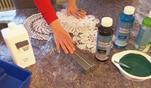 Zuhause im Glück: Evas Basteltipp: Schalen aus Spitzendeckchen