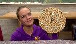 Zuhause im Glück: Evas Basteltipp: Holzscheiben-Wanduhr