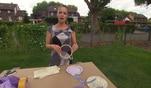 Zuhause im Glück: Evas Basteltipp: Eine schicke farbenfrohe Schmuckhalterung