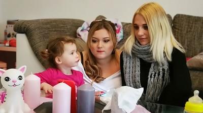 Teenie-Mütter - Wenn Kinder Kinder kriegen - Vanessa und Natalie